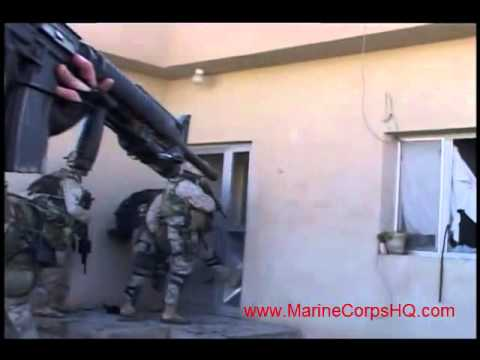US Marines Firefight In Fallujah - AWESOME Combat Camera Footage! (Operation Phantom Fury)