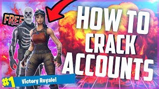 New) How To Crack Fortnite Accounts For FREE! Using Slayer