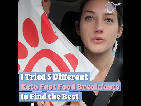 I Tried 5 Different Keto Fast Food Breakfasts to Find the Best