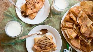 Блинчики с бананом и нутеллой|Banana & Nutella Pancakes
