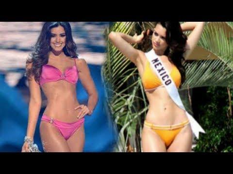 Elisa Najera y Paulina Vega las latinas con el mejor cuerpo del Miss Universo