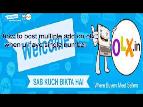 how to post a free add on olx