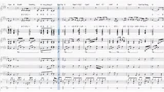 AIシンガー2人で一青窈さんの「ハナミズキ」を歌います。 #一青窈#AIきりたん#楽譜.
