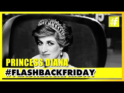 Princess Diana - The Queen Of People's Hearts | #FlashbackFriday
