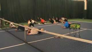 Andy Hill Cardio Tennis Cardio Stretching
