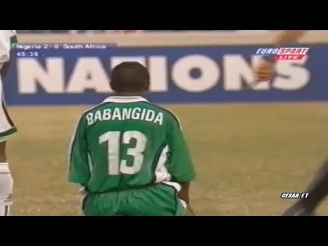 Tijani Babangida vs South Africa (Semi- Final) - Africa Cup of Nations 2000