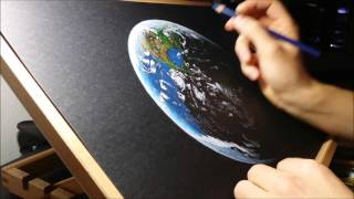 Earth Drawing Time lapse - P2