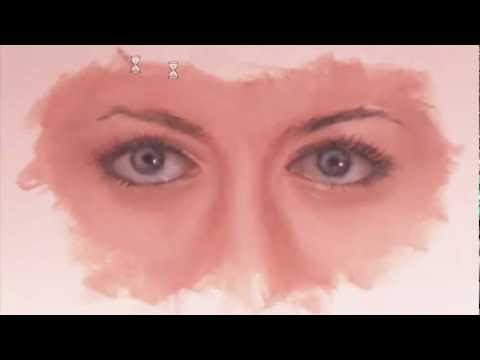 Painting a Woman's Eyes