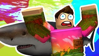 SHARK BITE IN ROBLOX - FUNNIEST MOMENTS
