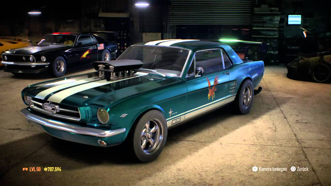 Need for speed 2015 ford mustang 1965