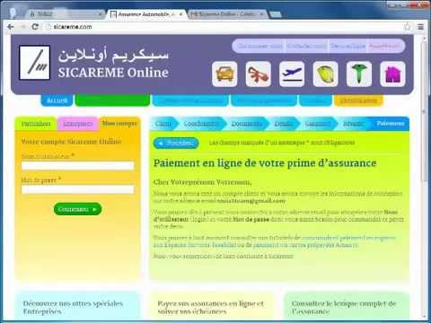 Comment obtenir votre attestation d'assurance www.sicareme.com