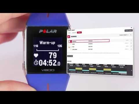 Plan training with Flow and the Polar V800