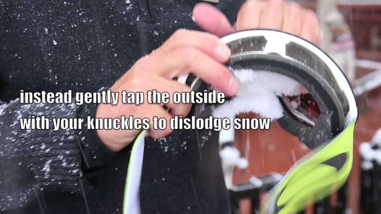 how to stop your goggles from fogging up
