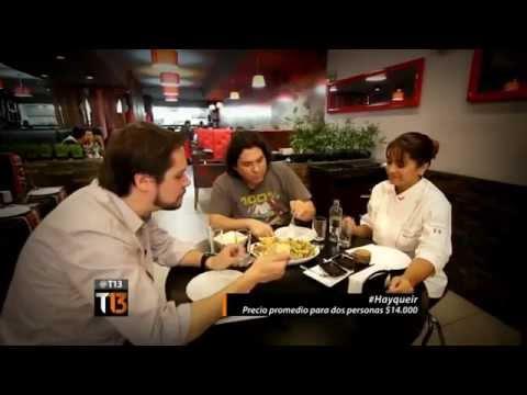 Canal 13 - La gastronomía Peruana en Chile según Gastón Acurio - Santiago de chile