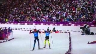 Биатлон. Золотой финиш Шипулина на Олимпиаде в Сочи
