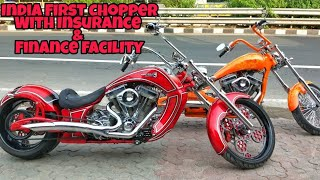 India's First Legal Custom Chopper | Brand New with Finance Facility And Insurance