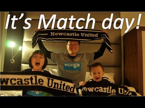 23 days long Family Adventure - Day 17 (St James park tour and New Year day match!)
