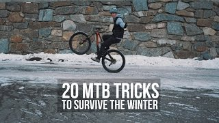 20 MTB Tricks to survive the Winter