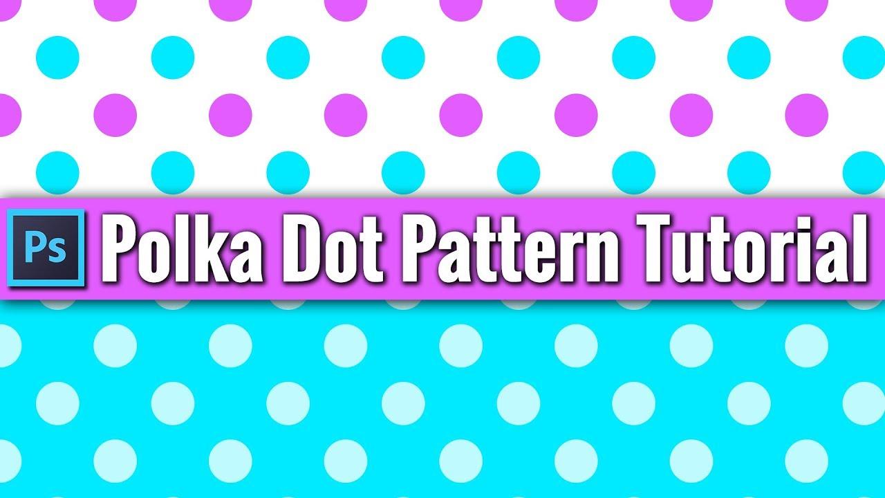 circle polka dot background pattern photoshop tutorial youtube. Black Bedroom Furniture Sets. Home Design Ideas