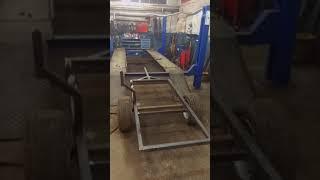 Przyczepka do quada - budowa