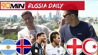 Iceland shock Argentina | Should Messi quit Pens? | England vs Tunisia Preview | 90min Daily Russia
