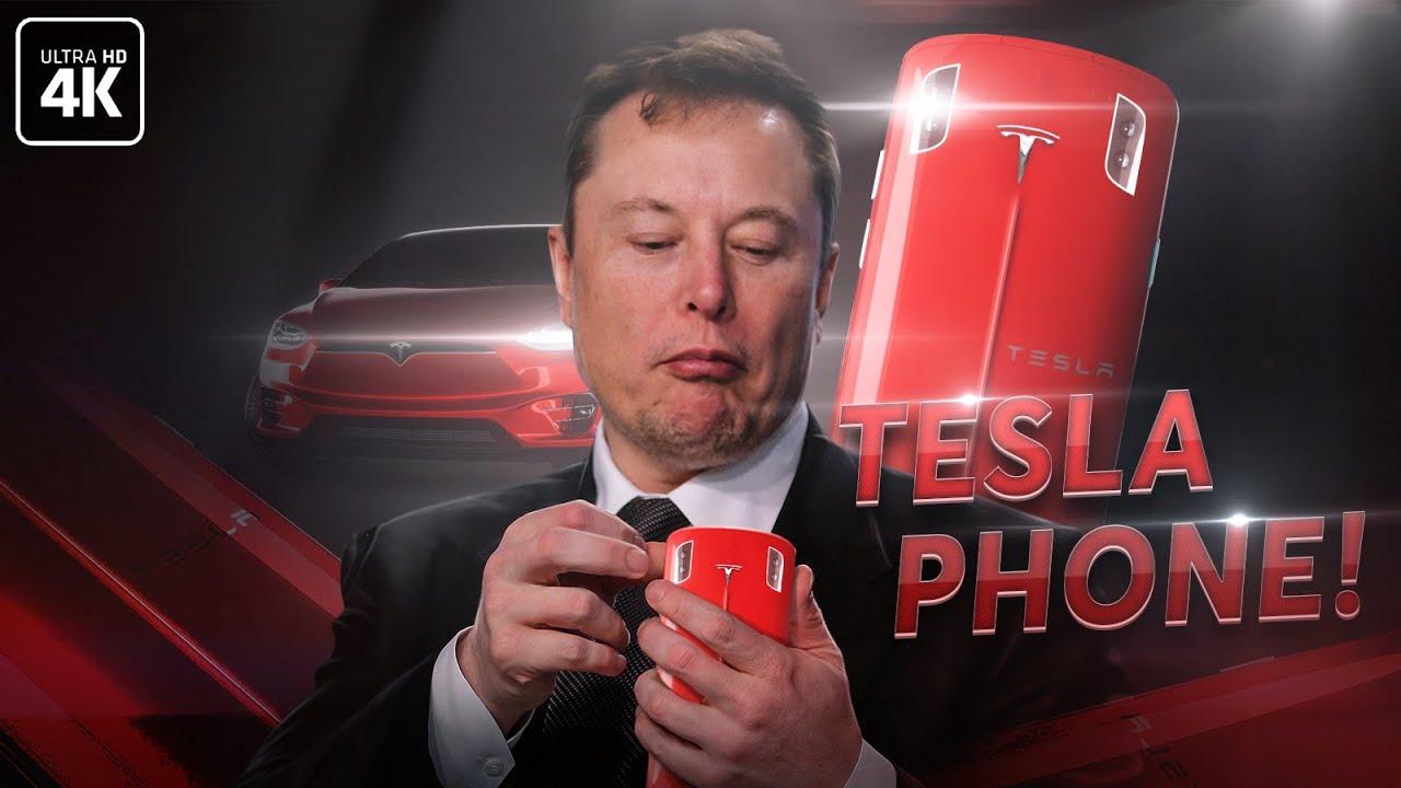 Смартфон от Илона Маска - разбор презентации Tesla Phone!