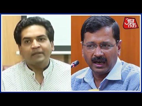 Kapil Mishra 'Exposes' Arvind Kejriwal, Alleges Delhi CM Involved In `Hawala Scam