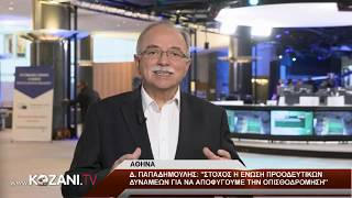 Ο υποψήφιος Ευρωβουλευτής Δ. Παπαδημούλης στο www.kozani.tv