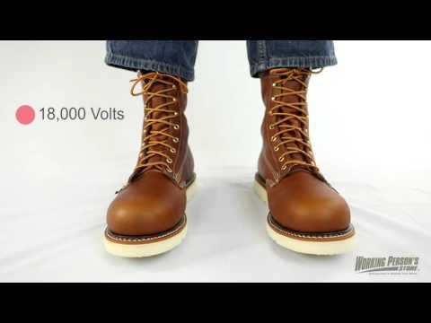 Thorogood Boots: Men's Steel Toe 804-4364 American Heritage Work Boots