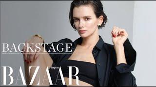 BACKSTAGE   Паулина Андреева для Harper's Bazaar