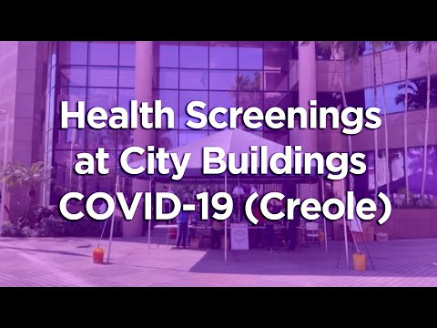 MRC Screenings for City Buildings (Creole)
