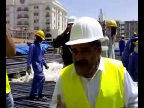 tetorial in construction site in bahrain
