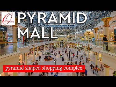 Wafi Mall Dubai | pyramid shape shopping complex