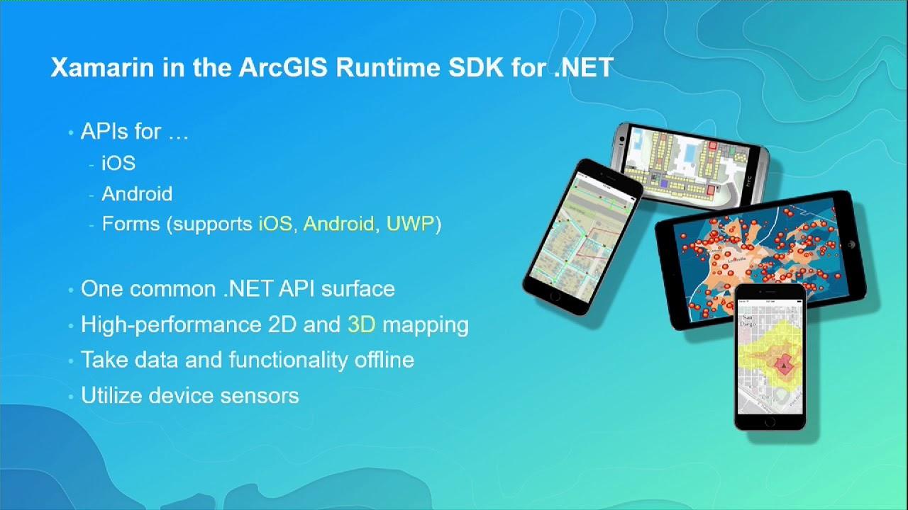ArcGIS Runtime SDK for  NET: Building Xamarin Apps