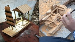 Amazing 12 Creation DIY Homemade 2020 use Wood & Bamboo