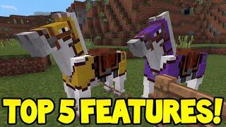Minecraft Pocket Edition - 0.15.0 Update! - TOP 5 FEATURES!