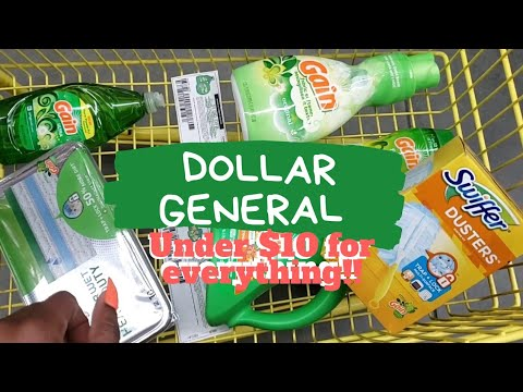 Dollar General Couponing! Easy Under $10 Digital Coupons!
