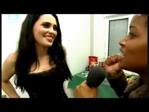 Sharon den Adel Interview (Pinkpop 2005)