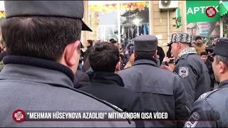 19 yanvar mitinqi - Xalq oyanır, polis qorxuya düşür