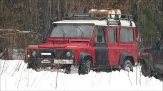 Off road по мокрому снегу