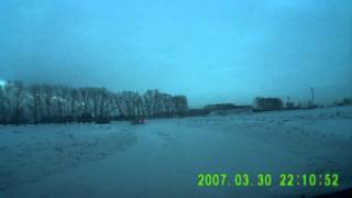 Алейск 02/02/13. UGT на трассе.