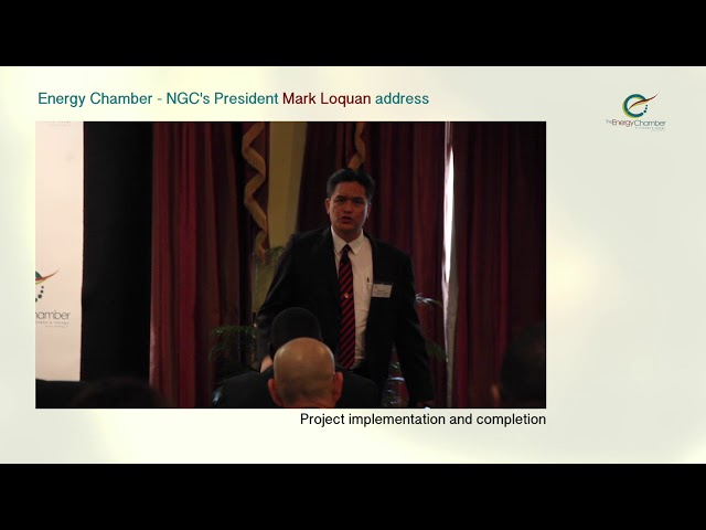 NGC President, Mark Loquan's Feature Address at TT Energy Chamber (Part 04 of 06)