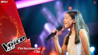 The Voice Kids Thailand - ลีเณ่ คาโรลีเณ - Nothing's Gonna Change My Love For You - 24 Jan 2016