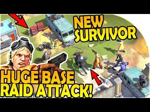 HUGE BASE RAID ATTACK + NEW IGOR SURVIVOR! - Zombie Anarchy Survival Game Gameplay