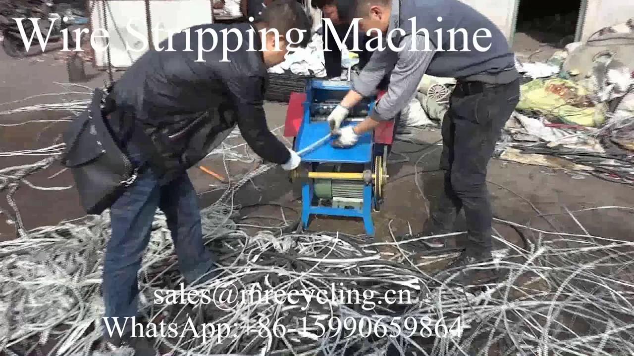 wire stripping machine on ebay video mp4