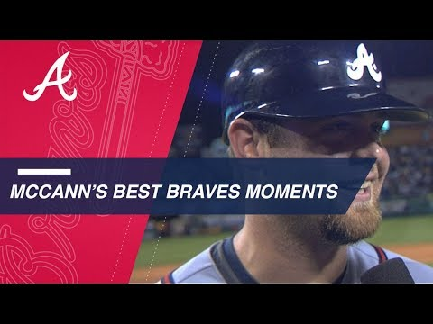 Check out Brian McCann's best moments for the Braves