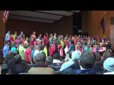 """2015 Pennsbury Elementary Choral Festival """"To Music"""""""