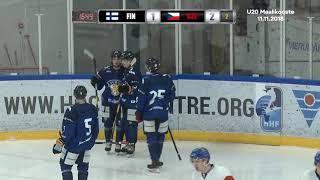 Maalikoostevideo U20 FIN-CZE // Vierumäki 11.11.2018