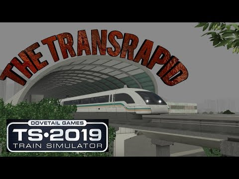 The Shanghai maglev train -Train simulator 2019 |