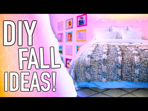 DIY Fall inspiration! Room decor + Outfits!
